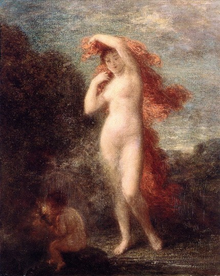 Henri Fantin-Latour - Venus and Cupid