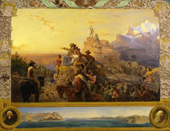 Emanuel Leutze - Westward the Course of Empire Takes Its Way