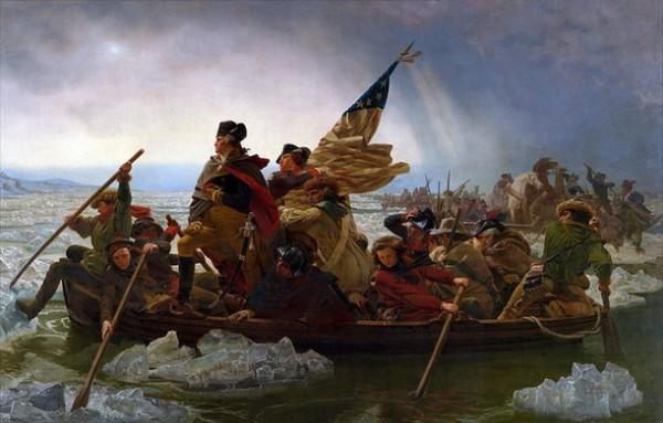 Emanuel Leutze - washington crossing the delaware river