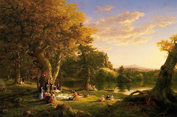 Thomas Cole - The Pic-Nic