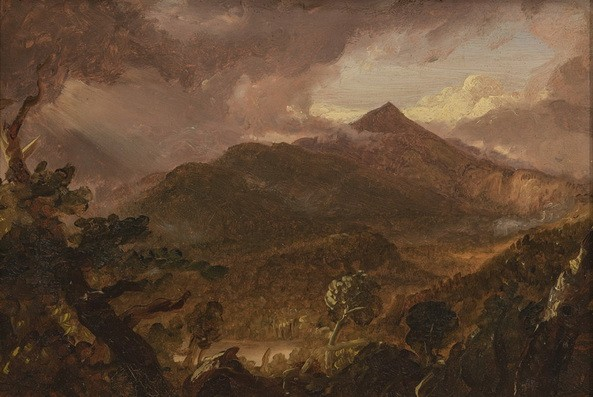 Thomas Cole - View of Schroon Mountain