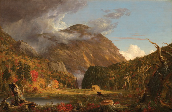 Thomas Cole - A View of the Mountain Pass Called the Notch