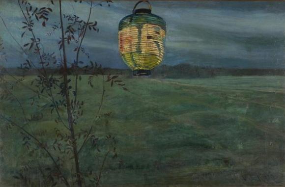 Oda Krohg - Chinese Lantern