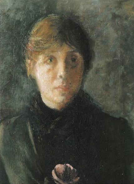 Oda Krohg  - self-portrait