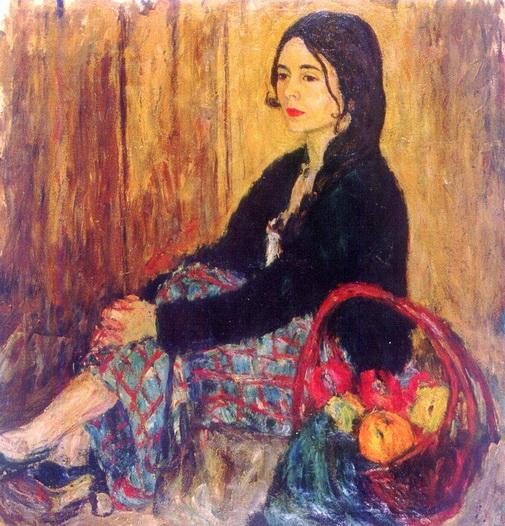 Abraham Manievich - Portrait of Lucy
