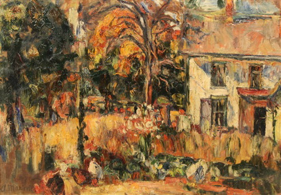 Abraham Manievich - Autumn Day in the Garden