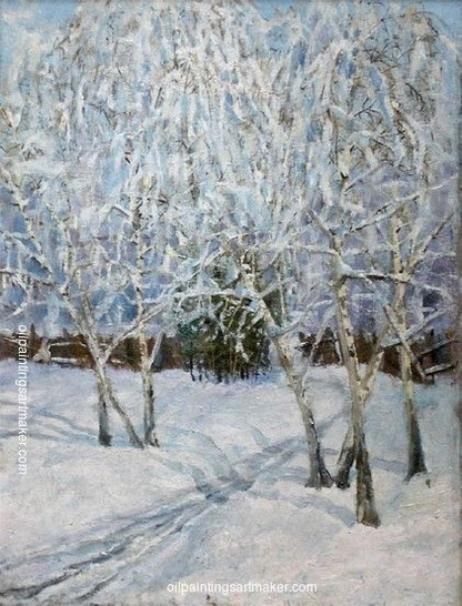Abraham Manievich - Winter