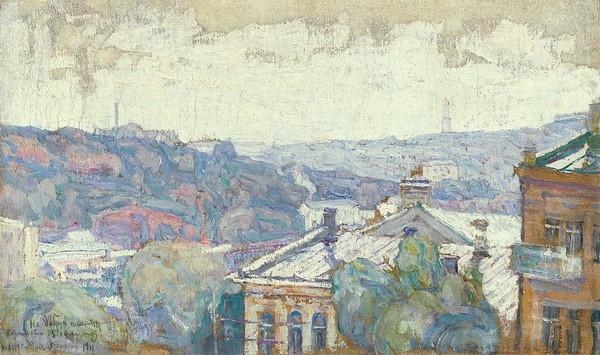 Abraham Manievich - View Of Kiev