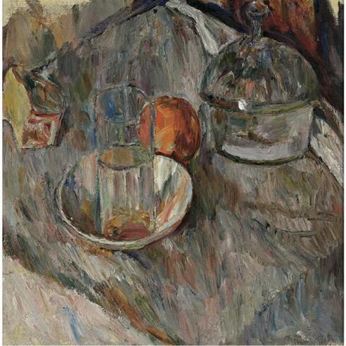 Abraham Manievich - Still Life with Glass