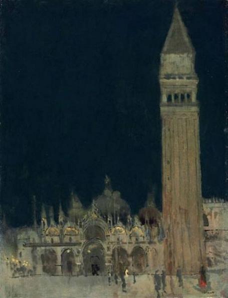 Walter Richard Sickert - Venice the campanile