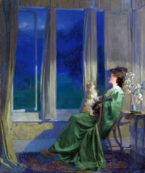 Frank Bramley -  Peace of Night