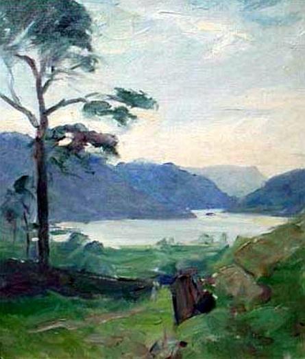 Frank Bramley -  Thislemere Lake Cumberland
