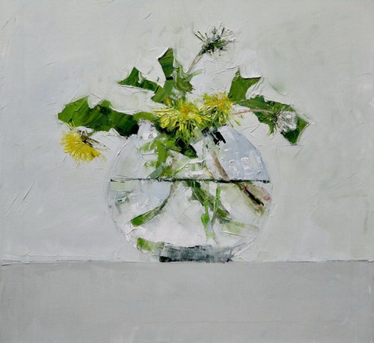 Mike Service - Mike Service - Dandelions in a glass..