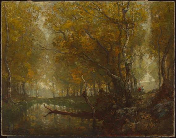 Henry Ward Ranger - Bradbury's Mill Pond