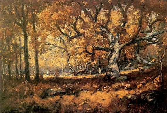 Henry Ward Ranger - The Woodland Scene