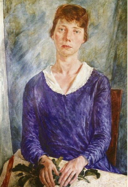 Яковлев В.А .-  портрет марии коровиной