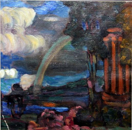 Яковлев В.А .-  романтический пейзаж