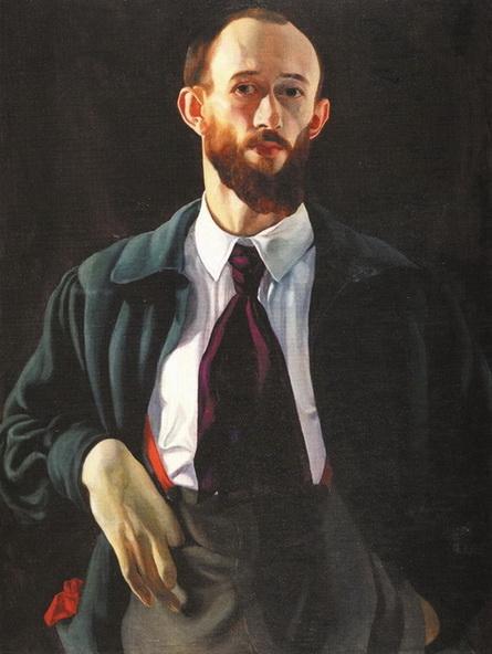 Яковлев В.А .-  автопортрет