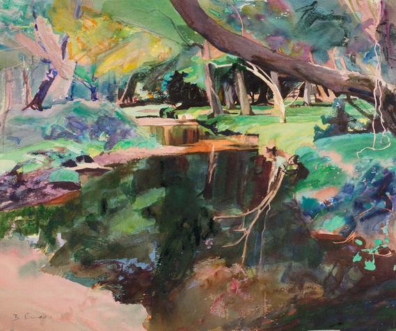 Bob Rudd - New Forest Stream