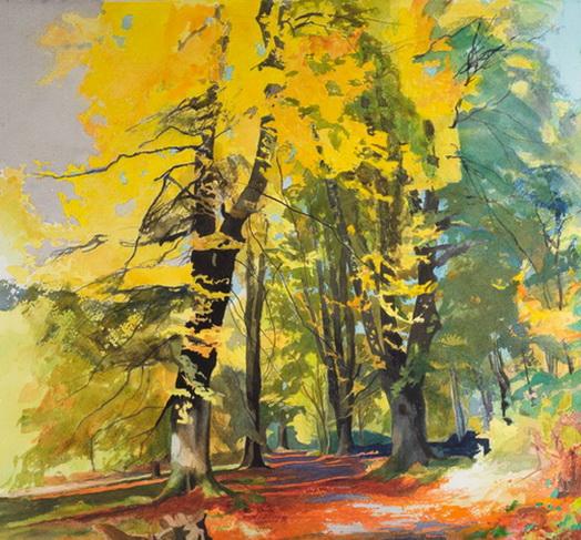 Bob Rudd - Savernake Early Autumn