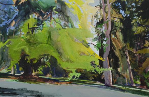 Bob Rudd - Summer Trees