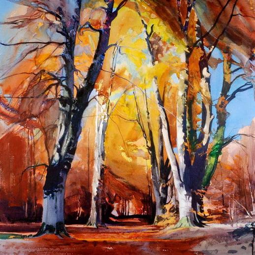Bob Rudd - Autumn Trees