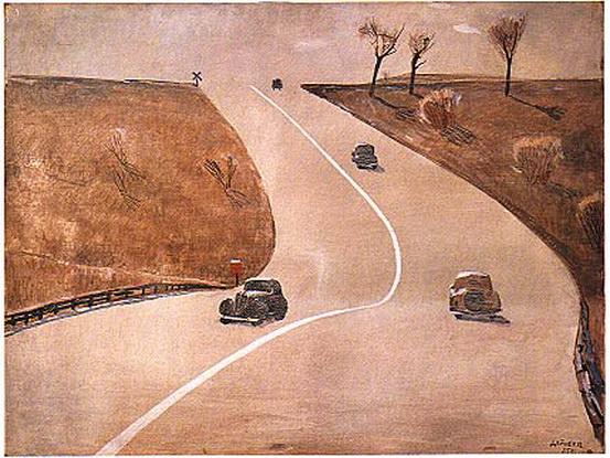 Дейнека - Дорога в Маунт-Вернон