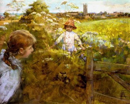 Stanhope Alexander Forbes - Hide And Seek