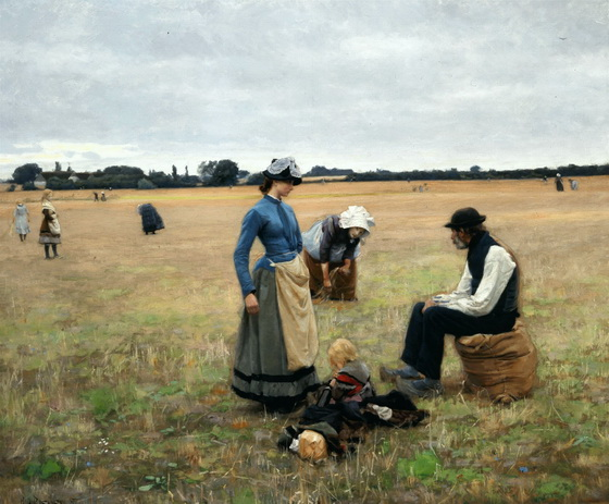 Hans Andersen Brendekilde - In the Field 1887