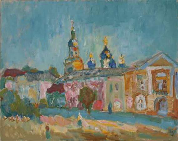 Севостьянов - Елец. Соборная площадь