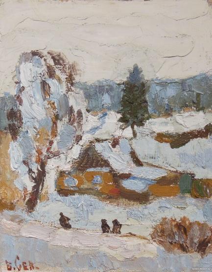 Севостьянов - Зима 2