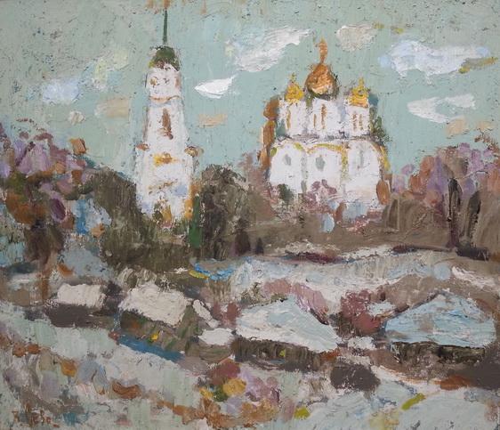 Севостьянов - Вид на Успенский собор