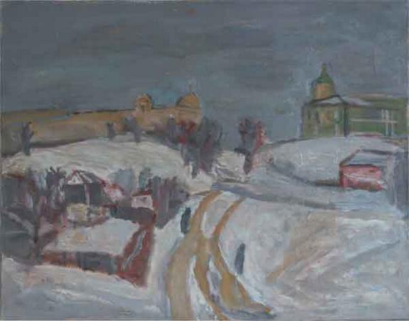 Севостьянов - Владимирский пейзаж.