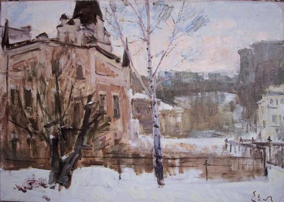 Вечтомов - Снег в городе