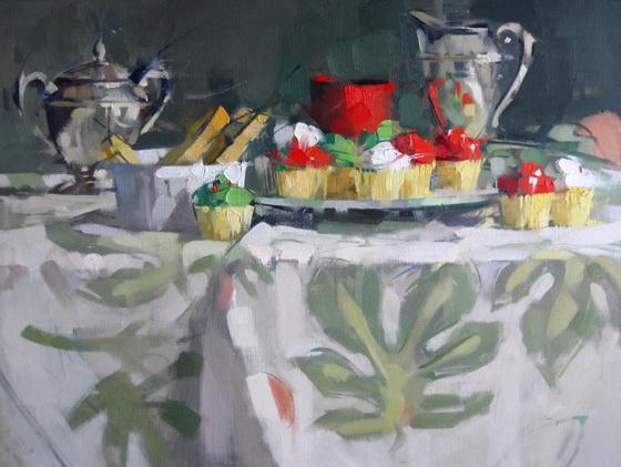 Maggie Sinner - mini cup cakes