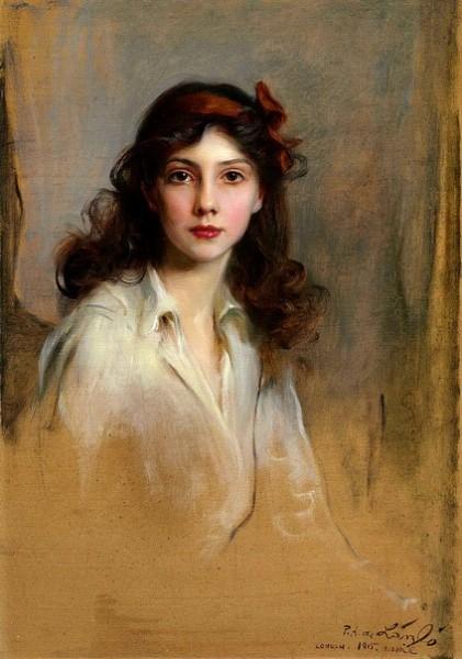 Philip de Laszlo - Portrait Of Princess Xenia Georgievna