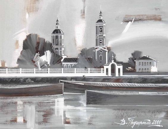 podgornyj - Вологодский р-н, Никольская церковь