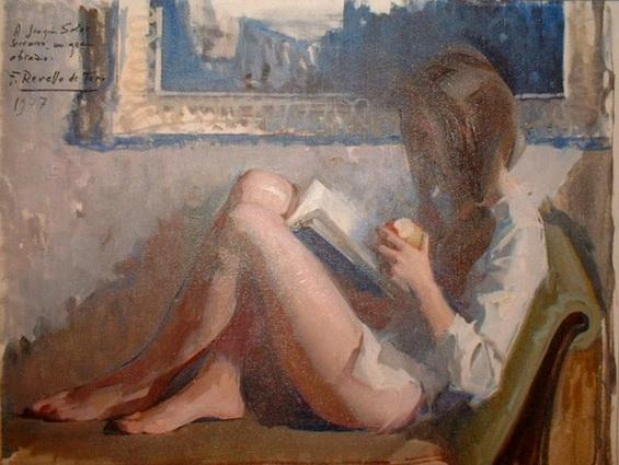 Felix Revello de Toro - Mujer leyendo