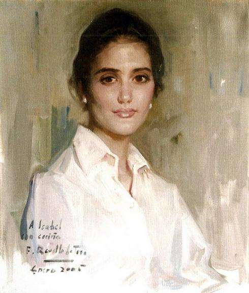 Felix Revello de Toro - Retrato de Maria Isabel