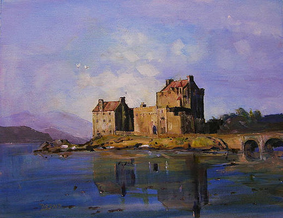Peter Tarrant - eilean donan castle