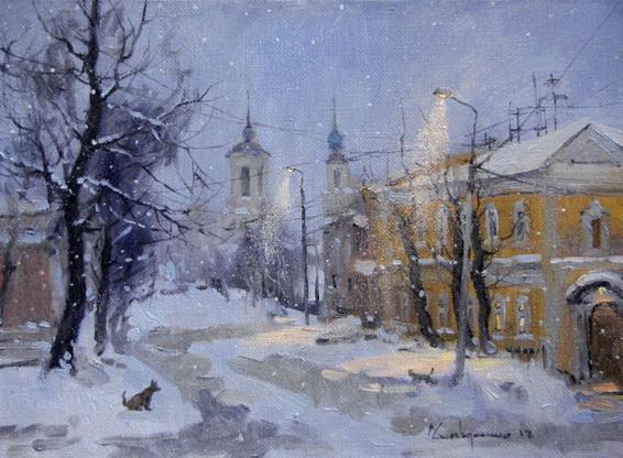 Савченко Алексей - падал снег