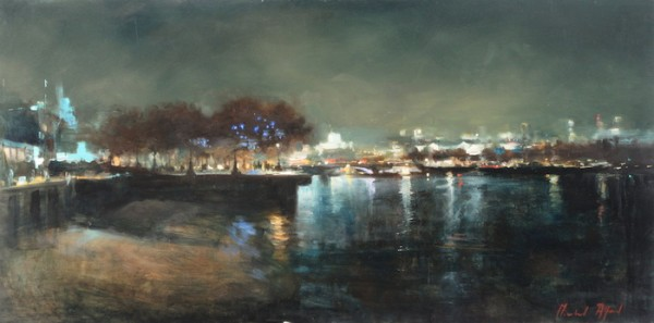 Michael Alford - Upriver from Gabriels Wharf