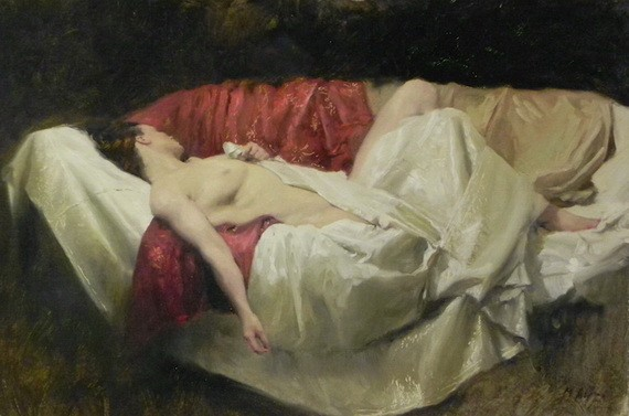 Michael Alford - Reclining Female Nud