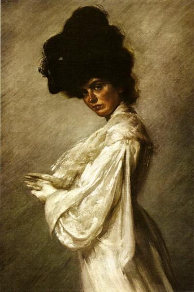 Amedeo Bocchi - La moglie Rita in abito da sposa