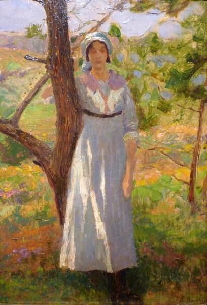 Amedeo Bocchi - Contadina a Terracina, 1920