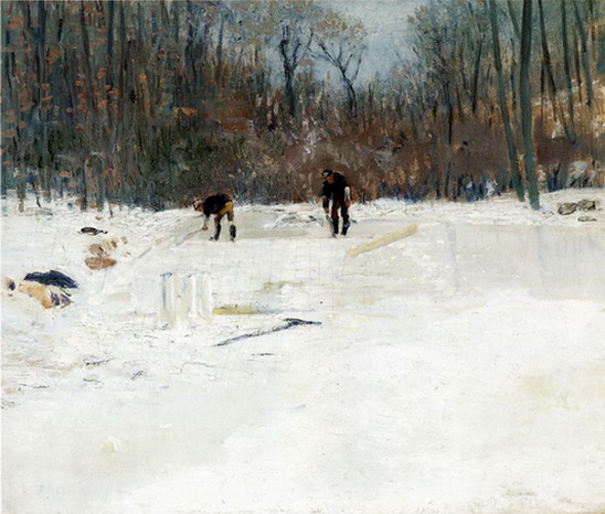 Julian Alden Weir - The Ice Cutters