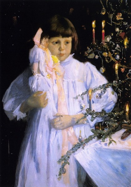 Julian Alden Weir - The Christmas Tree