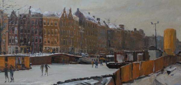 Piet van de Hoef - Prinsengracht- Bloemgracht