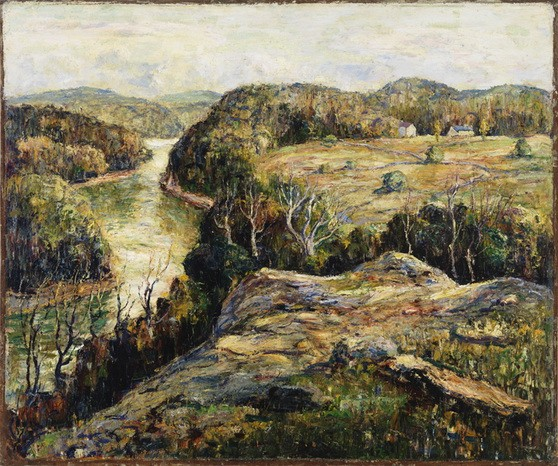 Ernest Lawson - Autumn Hills