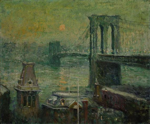 Ernest Lawson - Brooklyn Bridge